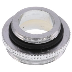 """11/16"""" x 55/64"""" Male Chrome Aerator Adaptor for Chicago Faucets Product Image"""