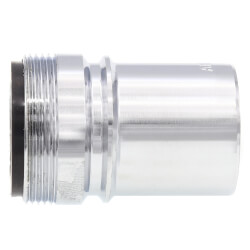 Chrome Male x Female Dishwasher Aerator Snap Nipple for Sears/Ward/Whirlpool 2.2 GPM Product Image