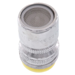 Slotless, Swivel Chrome M x F Faucet Aerator w/ Washer, 2.2 GPM Product Image