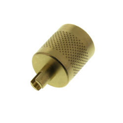 Heavy Duty Round Brass Cap w/ Handy Core Wrench Top & Neoprene Seal (25 Pack) Product Image