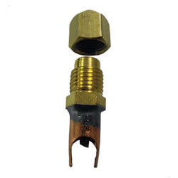 "SF5000 Series Saddle Valve Copper to Copper, 5/16"" OD (6 Pack) Product Image"