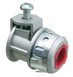 "3/8"" Saddlegrip Snap-Tite Connector with Insulated Throat Product Image"