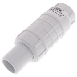 "1"" PVC Sch. 40 Short Repair Coupling (Spig x Soc w/ EPDM O-ring) Product Image"