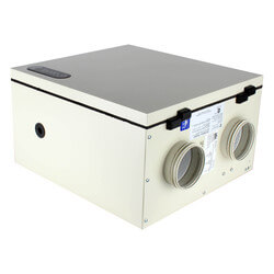 "SH Series Ventilator w/ Fan Shutdown Defrost, 4"" Side Ports (Max 1400 sq ft) Product Image"