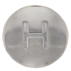 """13/16"""" Chrome Hot Handle Cap for American Standard Faucets (5-Pack) Product Image"""