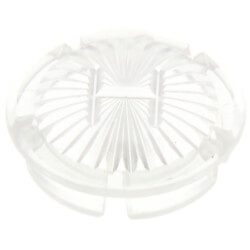 "1-1/16"" Clear Cold Handle Cap for Gerber Faucets (5-Pack) Product Image"