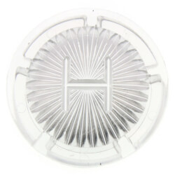 "1-1/16"" Clear Hot Handle Cap for Gerber Faucets (5-Pack) Product Image"