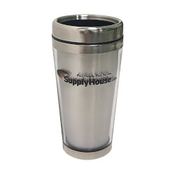 SupplyHouse Travel Mug - Silver Product Image