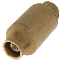 "1/2"" Sweat Spring Loaded Check Valve, Lead Free Product Image"