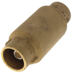 "3/4"" Sweat Spring Loaded Check Valve, Lead Free Product Image"
