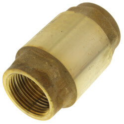 "3/4"" Threaded Spring Loaded Check Valve,<br>Lead Free Product Image"