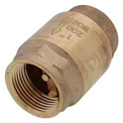 "1"" Threaded Spring Loaded Check Valve<br>Lead Free Product Image"