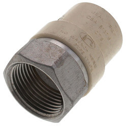 """1"""" CPVC x Female Stainless Steel Adapter (Lead Free) Product Image"""