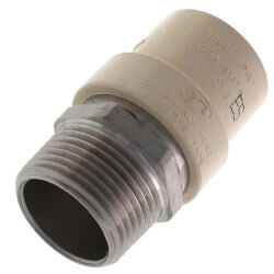 """1"""" CPVC x Male Stainless Steel Adapter (Lead Free) Product Image"""