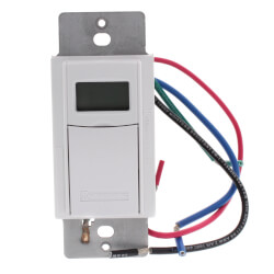 Heavy Duty 7-Day Digital Programmable Timer w/ Astro Feature (White) Product Image