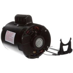 "6-1/2"" 1-Speed Evap. Cooler Motor (115V, 1725/1140 RPM, 1~1/3 HP) Product Image"