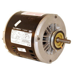 """6-1/2"""" 2-Speed Evap. Cool Motor (230V, 1725/1140 RPM, 1/2~1/6 HP) Product Image"""