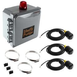 Simplex Pump Control Panel 120/208/240V, 1 Ph. NEMA 4X, 15 - 20 amps Product Image