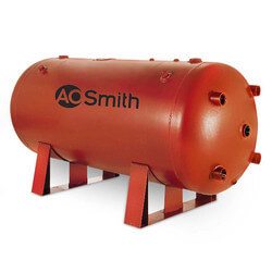 1,000 Gallon Uninsulated ASME Commercial Bare Storage Tank Product Image