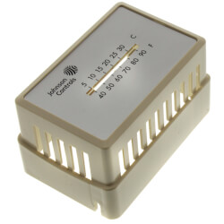 Beige Thermostat Cover<br>with Window<br>(Horizontal Mount) Product Image