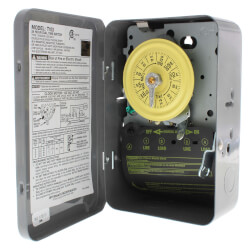 Heavy Duty Mechanical Time Switch, 40A, DPST (120V) Product Image