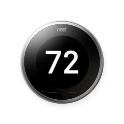 Nest Learning Thermostat Pro - 3rd Generation (Stainless Steel) Product Image