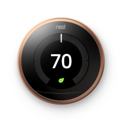 Nest Learning Thermostat - 3rd Generation (Copper) Product Image
