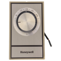 T498 Electric Heat Thermostat, SPST w/ Bimetal Snap Acting Switch (Gold) Product Image