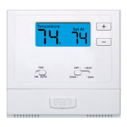 T621-2 Non Prog.<br>Thermostat w/ Heat Pump<br>(2H/1C) Product Image