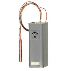 Remote Bulb Commercial Temp Control, 55&#176; to 85&#176;F<br> (5.5' Capillary) Product Image