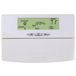 Programmable Commercial Thermostat with 3 Heat/3 Cool Conventional/Heat Pump Product Image