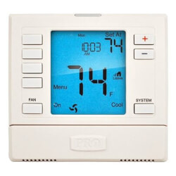 T755S Universal Prog.<br>Thermostat w/ Wired<br>Sensors (2H/2C, 3H/2C) Product Image