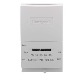 Mercury Free T834, Cool Only, Vertical Thermostat Product Image