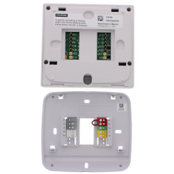 T855 Universal Prog.<br>7 Day Single Stage<br>Thermostat (2H/2C ) Product Image