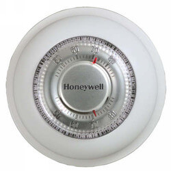 T87K Round Non-Programmable Mechanical Thermostat Heat Only Product Image