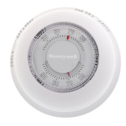 Round Non-Programmable, 1H/1C Mechanical Thermostat Product Image