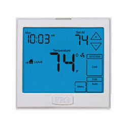 T955 Universal Multi<br>Stage Prog. Heat Pump<Br>Thermostat (3H/2C) Product Image