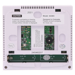 T955WH 7 Day Wireless<br>Touchscreen w/ Humidity<br>Control Thermostat (3H/2C) Product Image