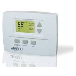 7-Day Non-Programmable, 1 Heat/1 Cool, 3 Fan Speed Thermostat Product Image