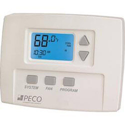 7-Day Programmable, 1 Heat/1 Cool, 3 Speed Fan Thermostat Product Image