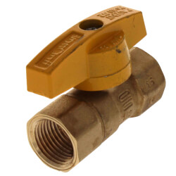 """1/2"""" FIP x 1/2"""" FIP Gas Ball Valve Product Image"""