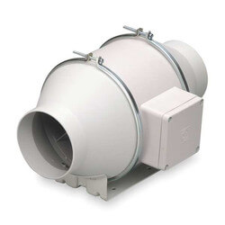 """TD-MIXVENT 5"""" Mixed Flow Duct Fan (120V, 2146 RPM, 38W) Product Image"""