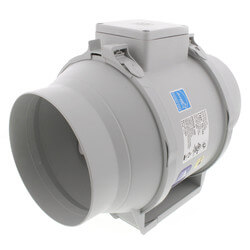 "TD-MIXVENT 6"" Mixed Flow Duct Fan (120V, 2289 RPM, 65W) Product Image"