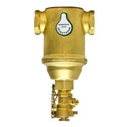 "3/4"" Spirotrap Brass Dirt Separators w/ rem. head (Female Thread) Product Image"