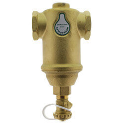 "1"" Spirotrap Drain Brass Dirt Separator with removable head (Female Thread) Product Image"