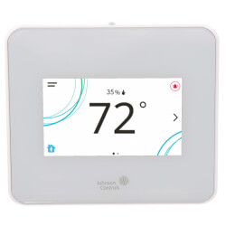 TEC3000 Stand-alone Thermostat Controller w/ Dehumidification (White) Product Image