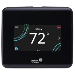 TEC3000 Stand-alone Thermostat Controller w/ Occupancy Sensor & Dehumidification (Black) Product Image