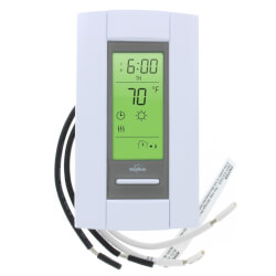 7-Day Programmable<br>Line Volt Thermostat For Electric Heating (50/60 Hz) Product Image