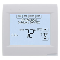 VisionPRO with RedLINK, Programmable, 1H/1C, Touchscreen Thermostat Product Image