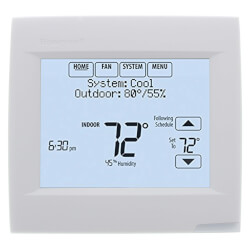 VisionPRO RedLINK & IAQ, Programmable Touch Screen Thermostat 3H/2C Product Image